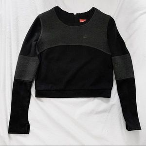 Nike Tech Fleece Cropped Sweatshirt